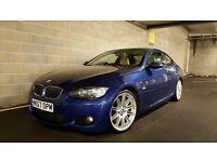 57 / 2007 BMW 335d M-SPORT AUTO COUPE - PRO SAT NAV - STUNNING E92 - 320d,325d