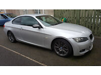 bmw 330d m sport coupe titan silver with black leather