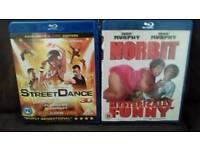 Norbit & Street Dance 3D Blue Rays.