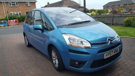 Automatic citreon c4 picasso 5 seater