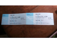 2 Tickets for Nina Conti 8pm Fri 30th September at King's Lynn Corn Exchange Rear Row GG1 and 2