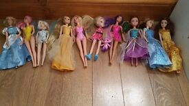 LOVELY 10 DOLLS IN PERFECT CONDITION