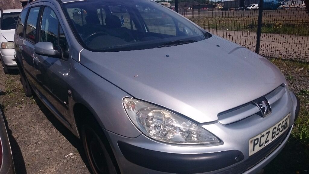 2002 PEUGEOT 307 LX 16V, 1.6 PETROL, BREAKING FOR PARTS ONLY, POSTAGE AVAILABLE