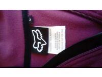 Fox cycling jumper, micro fleece