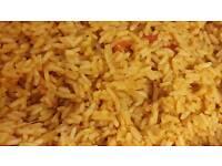 Nigerian jollof rice .