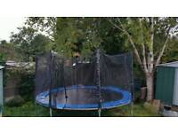 Trampoline... large ..around 13 - 14 ft