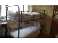 Metal Bunk Bed frame.