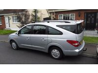 People Carrier. Ssangyong Rodius 2.7 Diesel ( Manual Gear Box ). New tyres, partial service history.