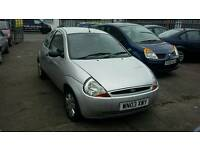 03 PLATE FORD KA. 1.3 PETROL. IDEAL FIRST CAR