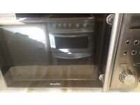 Breville Stainless Steel Digital Microwave, 20 Litre, 800 W , Silver