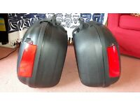 Shad SH43 Motorcycle Hard Panniers. Mounting Frame. Excellent condition