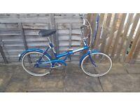Female Vintage Raleigh Foldable Bike £40
