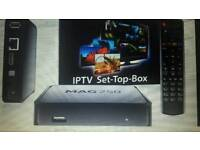 Mag 250 IPTV Box is back!