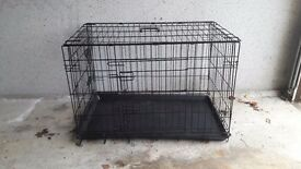 Dog cage for small to medium size