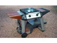 Outback Granite Gas BBQ (incl new cover & nearly full gas bottle)