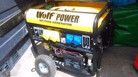 WOLF POWER GENERATOR 8.3/4 Kva