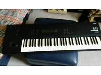 Korg M1 classic vintage synth workstation