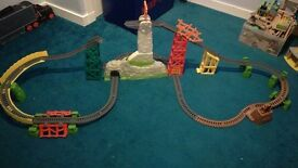 Thomas trackmaster trains and track