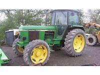 John deere 3040 4wd tractor
