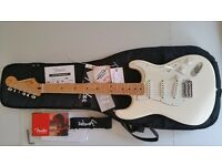 Fender Standard Stratocaster Arctic White 2012 Mexican MIM