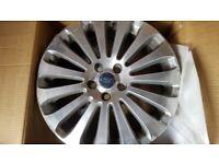 Ford Focus Titanium Alloy Wheel , Slight scuff on edge of rim