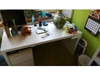 Malm desk ikea