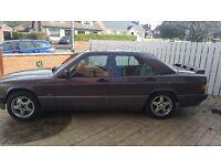 1991 Mercedes 190E 1800 petrol