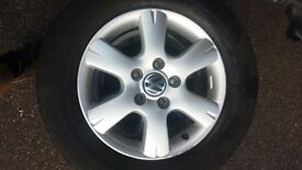 VW Transporter T5 genuine load rated alloy wheels 16 inch