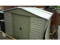 3m by 2m Shed
