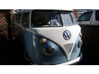 vw camper project