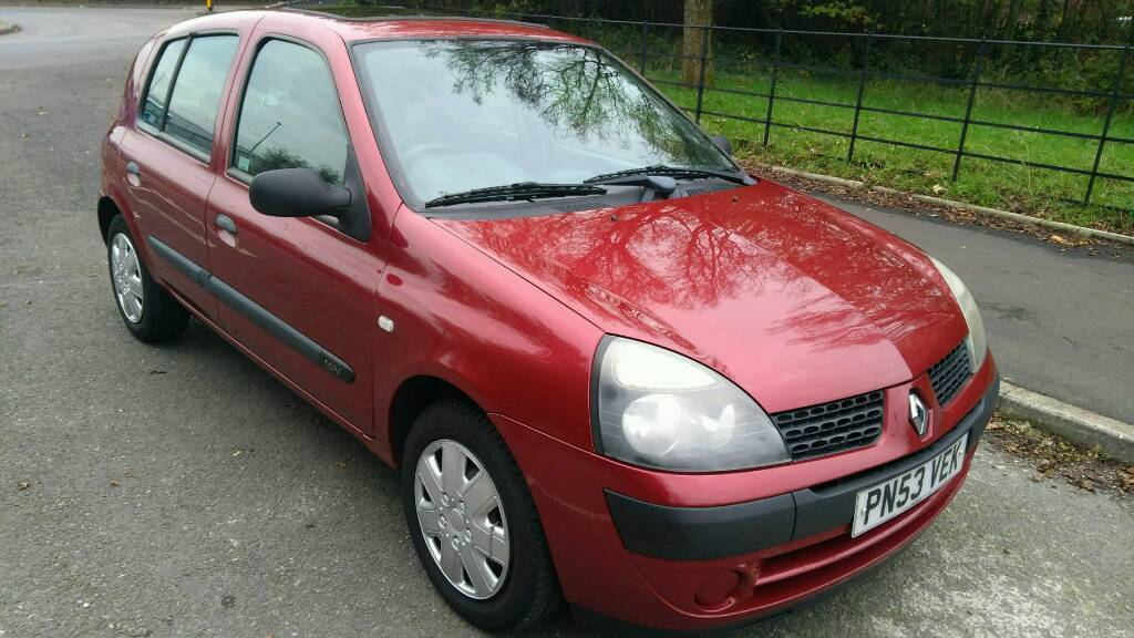 2003 Renault Clio 1.2 superb condition 5 doors with 3 months warranty