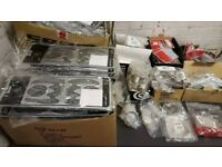 HUGE LOT OF VARIOUS BRANDS NEW CYCLING / BIKE PARTS - APPROX RRP £4500
