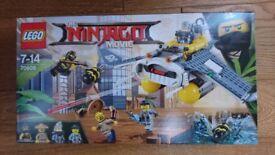Lego Ninjago Movie Manta Ray Bomber 70609 BNISB.