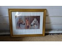 """""""We Three Kings"""" Framed Picture"""
