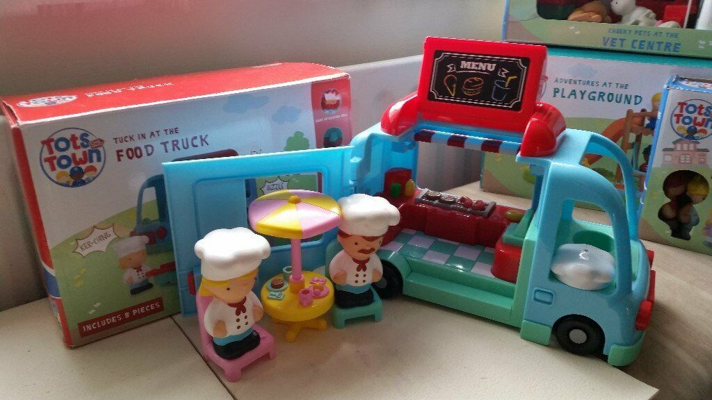 Months Chad Valley Tots Town Food Truck Playset 18
