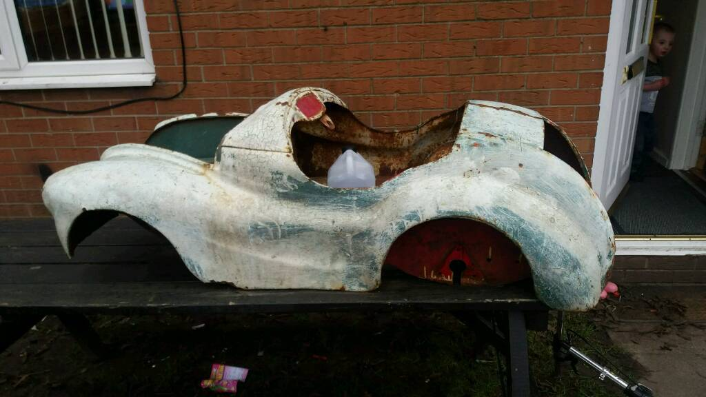 Old car frame