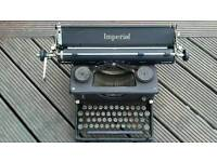 Genuine vintage Imperial typewriter SOLD