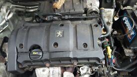 PEUGEOT 307, CITROEN C4 04 REG 1.6 CC ENGINE FOR SALE
