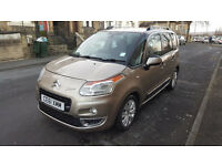 2012 CITROEN C3 PICASSO EXCLUSIVE 1.6HDI . ONLY 33,819 MILES. 12 MONTHS MOT. DRIVE AWAY