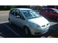 Mitsubishi Colt 1.3 cz2 41538 miles 12 months mot fully stamped history