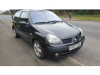 renault clio wing in black,drivers side,2001-2006