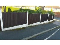 6 x 3 Fence Panels (9 in total)
