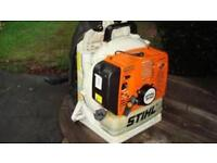 Stihl br420 back pack blower