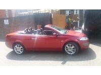 Renault Megane 2.0 VVT 136 Cabriolet Convertible, Glass Roof, Alloy Wheels, 6 Gears; priced to Sell