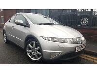 2007 Honda Civic 2.2 i-CTDi Sport Hatchback 5dr Hatchback, Warranty & Breakdown Available, £2,549