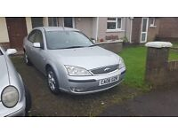 Ford mondeo 2.0 tdci 06 plate