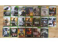 Xbox 360 60GB Console & 20 games