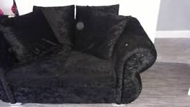 velvet suite 3x2 large foot stool