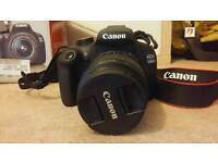 Canon 1200d slr camera with lens