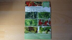 Speedy Seed 6-in-1 Seed Collection Spicy Aromatic